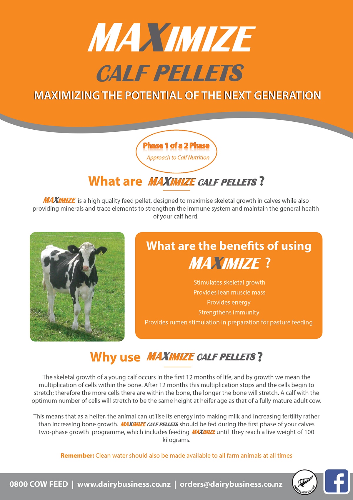 Maximise Calf Pellets product